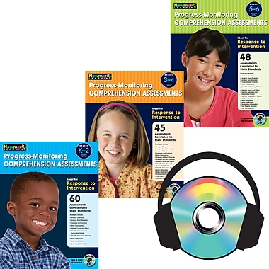 Newmark Learning Progress-Monitoring Comprehension Assessments Book Set, Grades Pre K - 12th