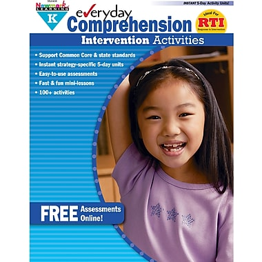Newmark Learning™ Everyday Comprehension Intervention Activities Book, Grades Pre Kindergarten
