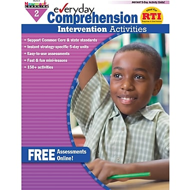 Newmark Learning™ Everyday Comprehension Intervention Activities Book, Grades 2nd