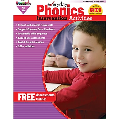 Newmark Learning™ Everyday Phonics Intervention Activities Book, Grades 2nd