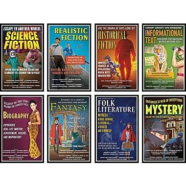 North Star Teacher Resources® Bulletin Board Set, Literary Genres