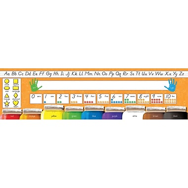 North Star Teacher Resources® Pre School - 1st Grades Desk Plate, Modern Manuscript