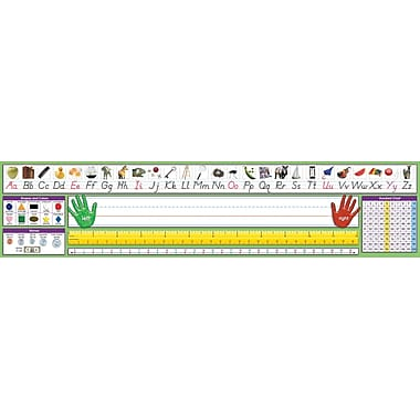 North Star Teacher Resources® 2nd - 6th Grades Desk Plate, Modern Manuscript