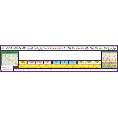 North Star Teacher Resources® 2nd - 6th Grades Desk Plate, Traditional Cursive