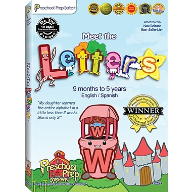 Pre School Preparation Company® Meet the Letters DVD