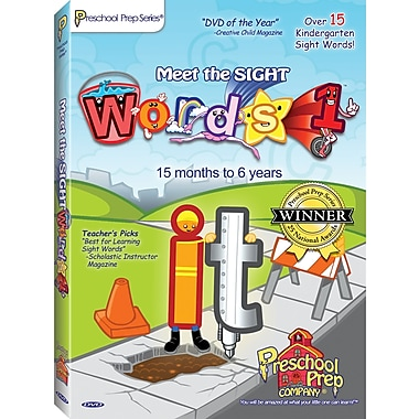 Pre School Preparation Company® Meet the Sight Words 1 DVD