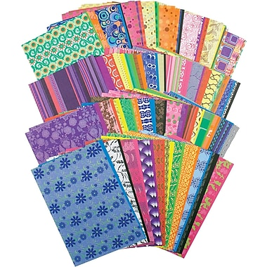 Roylco® 8 1/2in. x 5 1/2in. Decorative Hues Paper