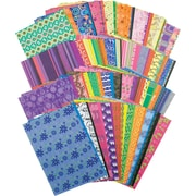 "Roylco R15203 5.5"" x 8.5"" Decorative Hues Paper"