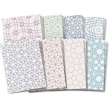 Roylco® 11in. x 8 1/2in. Tessellations Design Paper