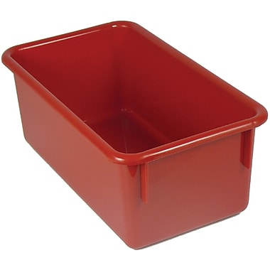Romanoff Products Stowaway® No Lid Container, Red