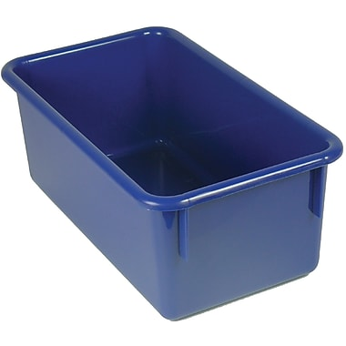 Romanoff Products Stowaway® No Lid Container, Blue