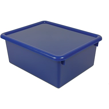 Romanoff Products Stowaway® Letter Box With Lid, Blue
