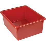 Romanoff Products Stowaway® Letter Box No Lid, Red