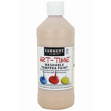 Sargent Art® 16 oz. Washable Paint, Peach