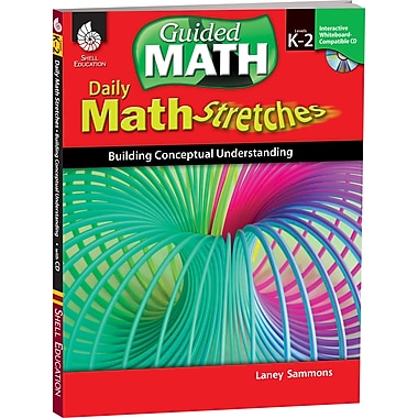 Shell Education® Daily Math Stretches Book - Building Conceptual Understanding, Levels K-2