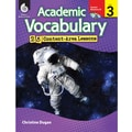 Shell Education® Academic Vocabulary Book, Grades 3rd