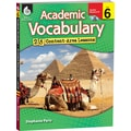 Shell Education® Academic Vocabulary Book, Grades 6th