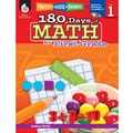 Shell Education® Practice, Assess, Diagnose: 180 Days of Math Book, Grades 1st