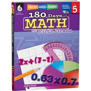 Shell Education® 180 Days of Math Book - Practice, Assess, Diagnose, Grades 5th