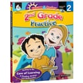 Shell Education® Bright and Brainy Grades 2nd Practice Book and CD, Grades 2nd