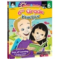 Shell Education® Bright and Brainy Practice Book and CD, Grades 6th