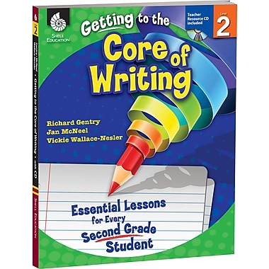 Shell Education® Getting to the Core of Writing Essential Lessons Book, Grades 2nd