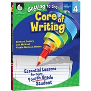 Shell Education® Getting to the Core of Writing Essential Lessons Book, Grades 4th