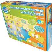Smart Play® Bilingual Learning Puzzle, About School