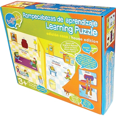 Smart Play® Bilingual Learning Puzzle, At Home