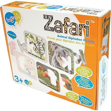 Smart Play® Bilingual Puzzle, Zafari