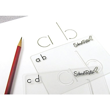 SchoolRite® Beginning Alphabet Templates Lowercase Book