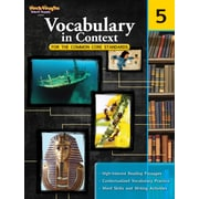 Houghton Mifflin® Harcourt Vocabulary in Context Book For the Common Core Standards, Grades 5th
