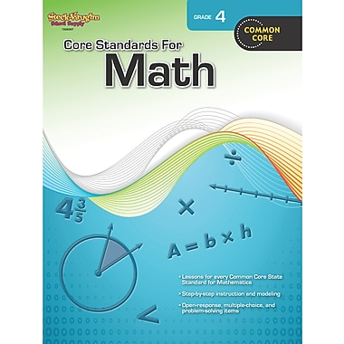 Houghton Mifflin® Core Standards For Math Book, Grades 4th
