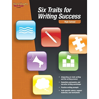 Houghton Mifflin® Harcourt Six Traits For Writing Success High School Book