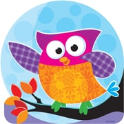 "TREND T-10117 6"" DieCut Classic Owl Accents, Multicolor"