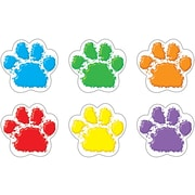 Trend Enterprises® Pre Kindergarten - 6th Grades Mini Accents, Paw Prints