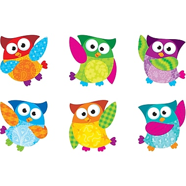 Trend Enterprises® Pre Kindergarten - 6th Grades Mini Accents, Owl-Stars