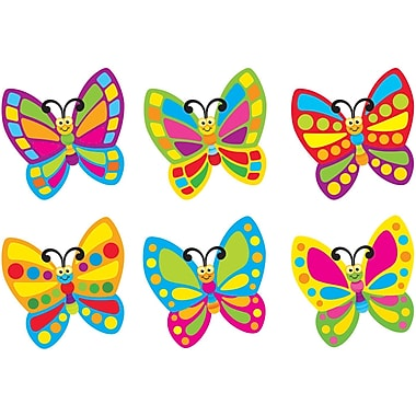 Trend Enterprises® Pre Kindergarten - 6th Grades Classic Accents, Fancy Butterflies