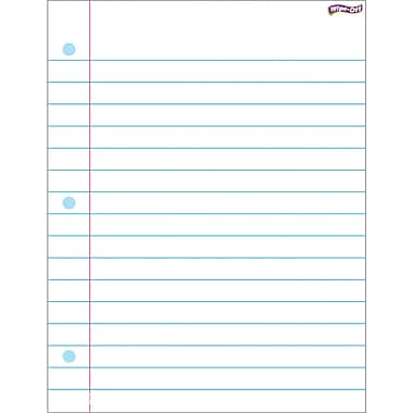Trend Enterprises® Notebook Paper Wipe Off Chart, Miscellaneous