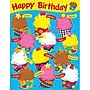 Trend Enterprises Birthday Bake Shop Learning Chart, Happy