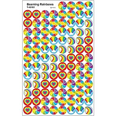 Trend Enterprises® Stickers, SuperSpots Beaming Rainbows