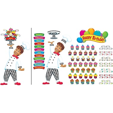 Trend Enterprises® Bulletin Board Set, Happy Birthday Bake Shop