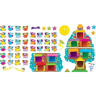 Trend Enterprises® Bulletin Board Set, Owl Stars Job Chart