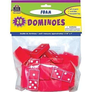 Teacher Created Resources® Foam Dominoes, Red