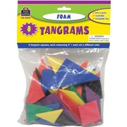 Teacher Created Resources® Foam Tangrams, Grades Kindergarten+