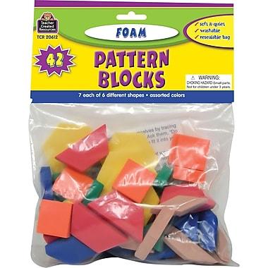 Teacher Created Resources® Foam Pattern Blocks, Grades preschool+