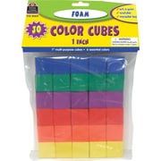Teacher Created Resources® Foam Color Cubes, Grades preschool+