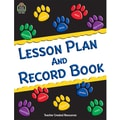 Teacher Created Resources® Paw Prints Lesson Plan and Record Book