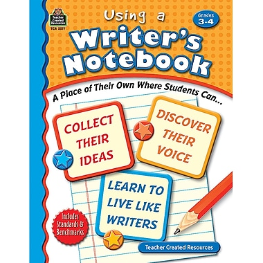 Teacher Created Resources® Using A Writer's Notebook, Grades 3rd - 4th