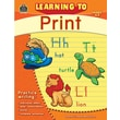 Teacher Created Resources TCR2769 Learning to Print Book, Grade Kindergarten - 2